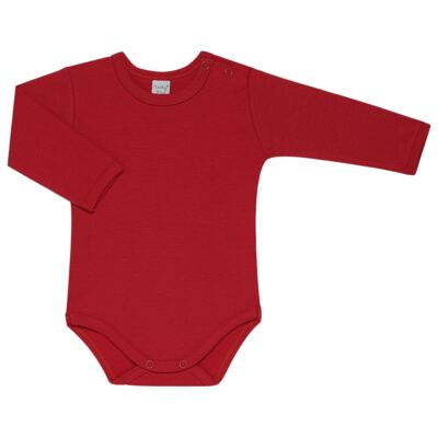 Imagem 3 do produto Kit 2 Bodies longos para bebe Red Anchor - Vicky Lipe - LTPBML07 PACK 2 BODIES ML LISTRA ÂNCORA/VERMELHO-P