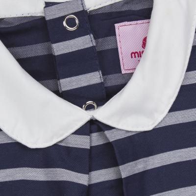Imagem 2 do produto Vestido c/ golinha em tricoline College - Missfloor - 12CG0001.365 VESTIDO COM GOLA TRICOLINE MARINHO-1