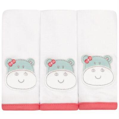 Imagem 1 do produto Kit com 3 fraldinhas de boca em malha Zoo Hippa - Classic for Baby