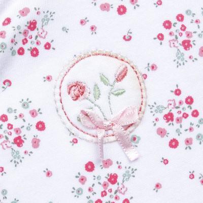 Imagem 2 do produto Macacão longo para bebe em algodão egípcio Holly - Piu-Piu - PIU912021.001 MACACAO COMP. FLORAL AQUARELA-RN