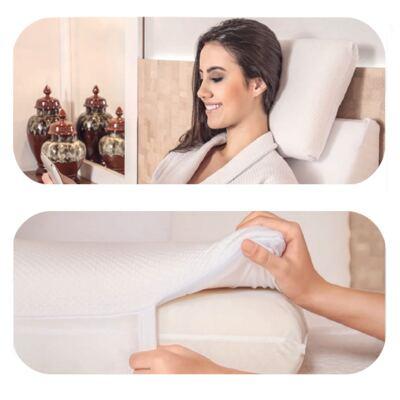 Imagem 4 do produto Travesseiro Portátil Multiuso Dr. Face - Fibrasca