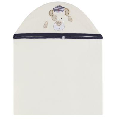 Imagem 1 do produto Toalha Max com capuz Sailor Dog  - Classic for Baby