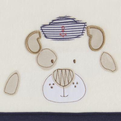 Imagem 3 do produto Toalha Max com capuz Sailor Dog  - Classic for Baby