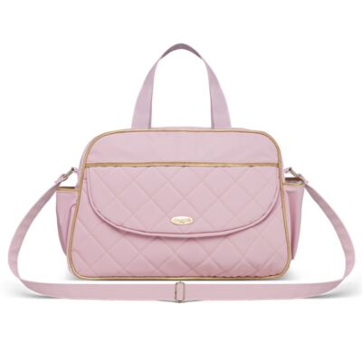 Imagem 2 do produto Bolsa + Frasqueira para Bebê Mosaic Rosa - Classic for Baby Bags