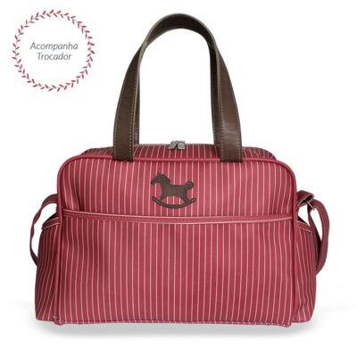 Imagem 1 do produto Bolsa para bebe Lídia Vermelho Stone - Masterbag
