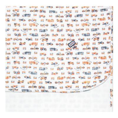 Imagem 1 do produto Manta para bebe em algodão egípcio c/ jato de cerâmica e filtro solar fps 50 Truck Adventures - Mini & Kids