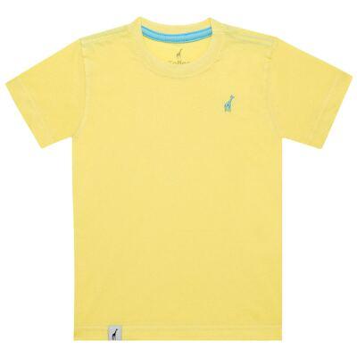 Imagem 1 do produto Camiseta básica em malha Amarela - Toffee - 900T1424 CAMISETA MC MALHA AMARELO-3