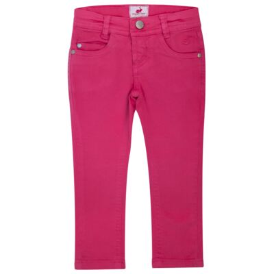Imagem 2 do produto Calça Skinny em sarja Swarovski Pink - Missfloor - 1730M1757 CALÇA SKINNY PINK SARJA SARJA-2
