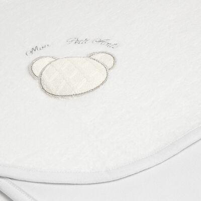 Imagem 2 do produto Manta para bebe em unifloc Honey Bear Blanc - Baby Classic