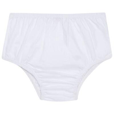 Imagem 5 do produto Vestido curto com Calcinha para bebe em piquet Marinho - Missfloor - 18VC0001.365 VESTIDO POLO REGATA C/CALCINHA-PIQUET-0-3
