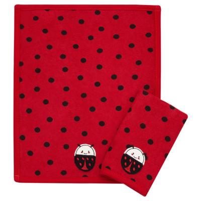 Imagem 1 do produto Kit com 2 fraldas de boca atoalhadas Little Ladybug - Classic for Baby