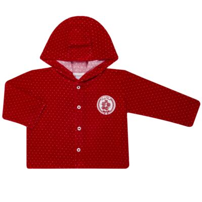 Imagem 2 do produto Casaco c/ capuz e Calça para bebe em plush Ruby - Mini & Kids - CCPZ1051.215 CONJ. BLUSÃO CAPUZ E CALÇA PLUSH VERMELHO-M