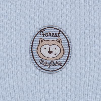Imagem 5 do produto Pack Forest Bear: 02 regatas em suedine - Vicky Baby - 1041-4250 PACK 2 REGATA URSO FOREST -G