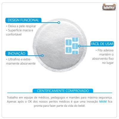 Imagem 4 do produto Absorventes para seios (30pçs) - MAM