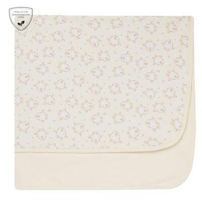 Imagem 1 do produto Manta para bebe em suedine Baby Calm Girafinha - Nano Protect