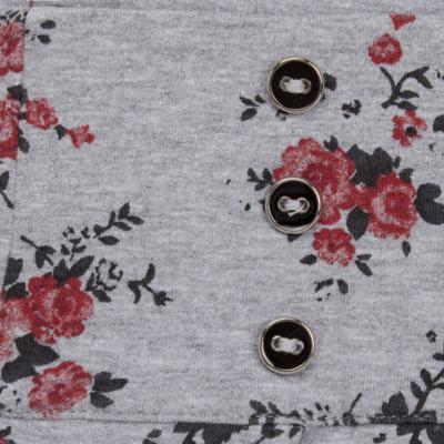 Imagem 2 do produto Saia pregueada em viscomfort Fleurs - Missfloor - 51PD0001.372 SAIA PREGUEADA - VISCOMFORT-2