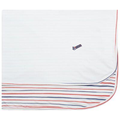 Imagem 1 do produto Manta em Pima Cotton Supreme Sailor Boy - Mini & Kids