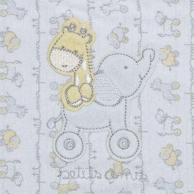 Imagem 2 do produto Colchão para carrinho em malha Elefantinho - Classic for Baby