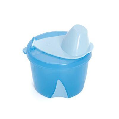 Imagem 2 do produto Porta leite em pó para viagem Azul + Mixer para fórmula ClevaMixer -  Clevamama