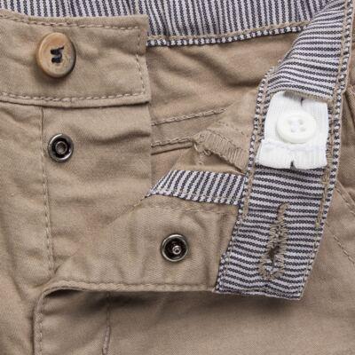 Imagem 3 do produto Calça para bebe em sarja c/ barra dobrável Khaki - Reserva Mini - RM23076 CALÇA BB CASUAL KHAKI-P