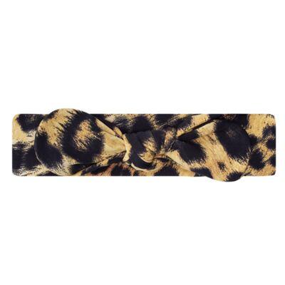 Imagem 1 do produto Faixa de cabelo em lycra Laço Oncinha - Letiti