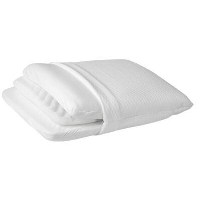 Imagem 2 do produto Travesseiro Personal Mix 3 com Altura Ajustável - Fibrasca