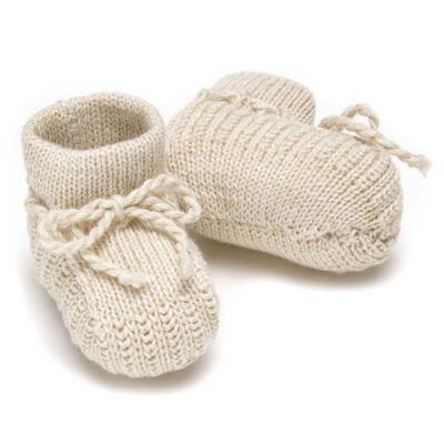 Imagem 2 do produto Botinha em tricot Bege - Roana