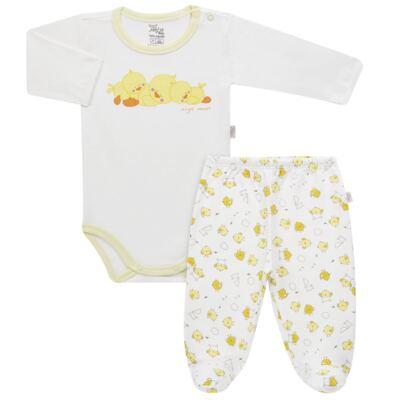 Imagem 1 do produto Pijama longo para bebe em suedine Piu Piu - Anjos Baby - AB1759006.004 PIJAMA BABY SUEDINE FEM PIU PIU T06-M