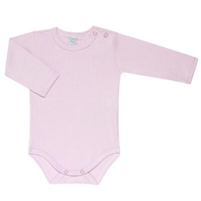 Imagem 3 do produto Kit 2 Bodies longos para bebe Flowery - Vicky Lipe - LTPBML10 PACK 2 BODEIS ML FLORIDO/LILÁS-P