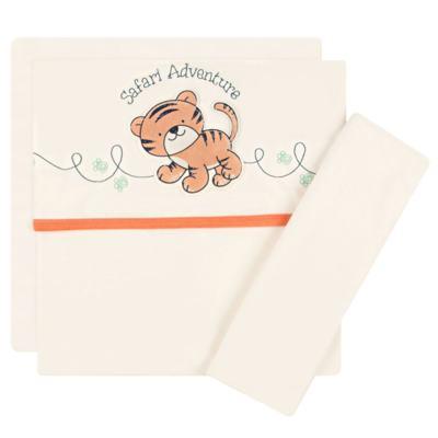 Imagem 1 do produto Jogo de lençol para berço em malha Tiger - Classic for Baby