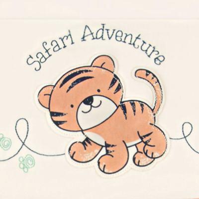 Imagem 2 do produto Jogo de lençol para berço em malha Tiger - Classic for Baby