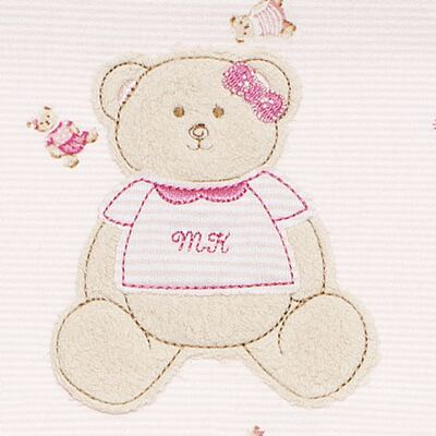 Imagem 2 do produto Jogo de lençol para berço em malha Kedy Bear - Classic for Baby