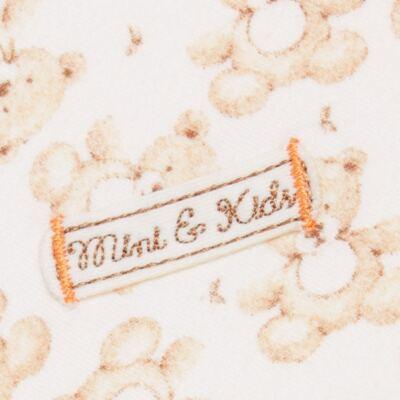Imagem 2 do produto Manta em algodão egípcio c/ jato de cerâmica e filtro solar fps 50 Nature Little Friend Bear - Mini & Kids - MTAV0001.18 MANTA AVUSA-SUEDINE