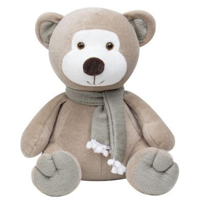 Imagem 2 do produto Kit Bichinhos: Leão Esticadinho & Ursinho Chocalho em plush - Anjos Baby
