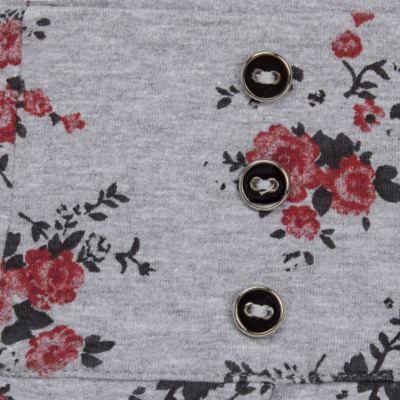 Imagem 2 do produto Saia pregueada em viscomfort Fleurs - Missfloor - 51PD0001.372 SAIA PREGUEADA - VISCOMFORT-3
