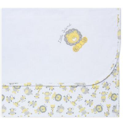 Imagem 1 do produto Manta em Suedine Nature Giraffe & Friends - Classic For Baby