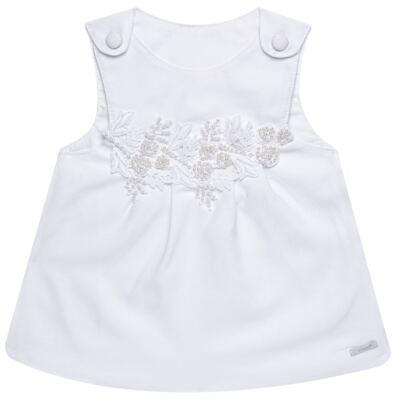 Imagem 2 do produto Saída Maternidade para bebe Lauren: Vestido + Body longo + Manta - Roana