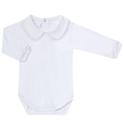 Imagem 7 do produto Saída Maternidade para bebe Lauren: Vestido + Body longo + Manta - Roana