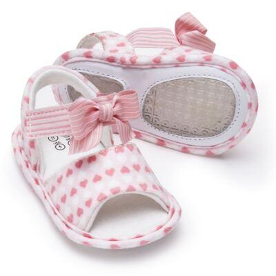 Imagem 2 do produto Sandália para bebe em algodão egípcio c/ jato de cerâmica e filtro solar fps 50 Maternité Love - Mini & Kids - 500.005.0751999 SANDÁLIA GORGURÃO 0 MK 15-17