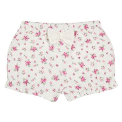 Imagem 4 do produto Body Polo com Shorts para bebe em suedine Florale - Grow Up - 04080008.0004 CONJUNTO FLOWERY CREME-G