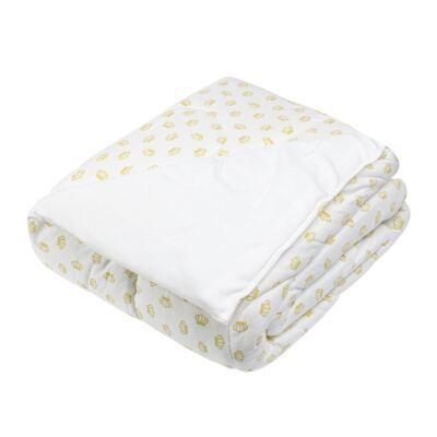 Imagem 1 do produto Edredom para berço em suedine Queen - Anjos Baby