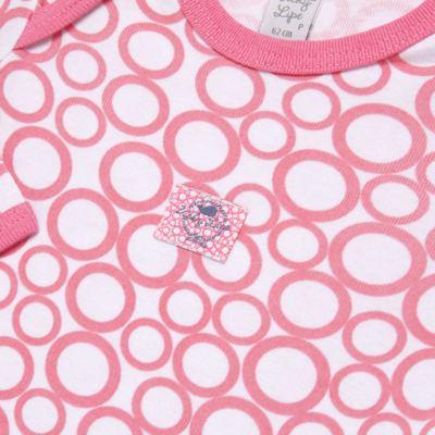 Imagem 3 do produto Pack 2 Bodies longos para bebe em high comfort Cute Whale - Vicky Lipe - 20471334 PACK BODY ML MALHA BALEIA-M