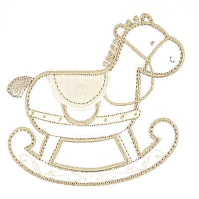Imagem 2 do produto Jogo de lençol para berço em Pima Cotton Supreme Baby Horse - Classic for Baby