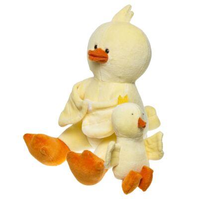 Imagem 4 do produto Kit: Bichinho Chocalho + Segura nenê para bebe Piu Piu - Anjos Baby