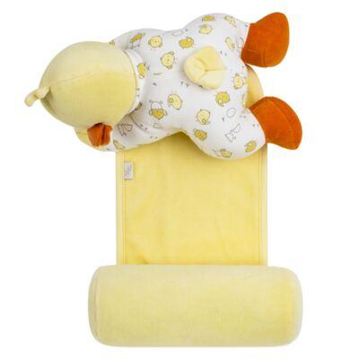 Imagem 6 do produto Kit: Bichinho Chocalho + Segura nenê para bebe Piu Piu - Anjos Baby