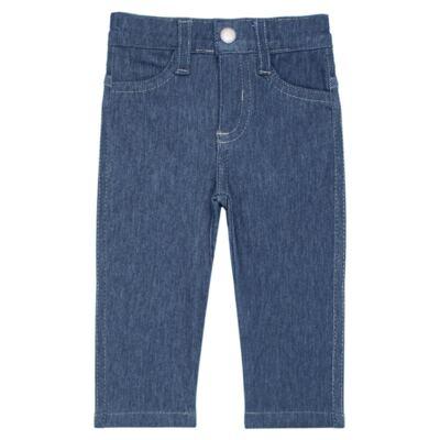 Imagem 1 do produto Calça para bebe feminina em jeans fleece - Mini & Kids - CALF1184 CALÇA AVULSA FLEECE BICICLETINHA-M