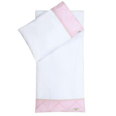 Imagem 1 do produto Colchão para carrinho com fronha Pink Teddy Bear - Laura Ashley Baby