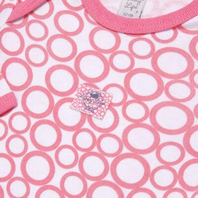 Imagem 3 do produto Pack 2 Bodies longos para bebe em high comfort Cute Whale - Vicky Lipe - 20471334 PACK BODY ML MALHA BALEIA-RN