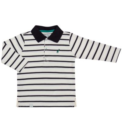 Imagem 1 do produto Camiseta Polo em malha Champions - Toffee - 65PM0001.321 CAMISETA POLO M/L - MALHA-2