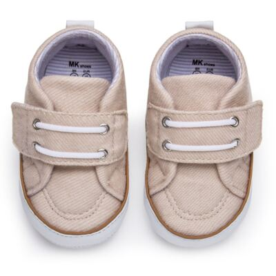 Imagem 1 do produto Tênis em sarja Basic Denim Caqui - Mini & Kids - 520.012.0811999 TÊNIS MK 0 MK -17